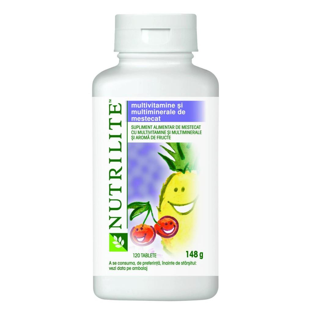 Nutrilite Multivitamine si multiminerale de mestecat