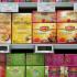 MAGAZINELE MEGA IMAGE vând ceaiuri între 2 și 25 de lei, de la Fares la Twinings