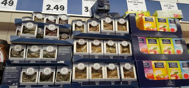 """LIDL aduce gama """"Cămara Noastră"""" cu ceaiuri de la 1.49 lei la 5 lei"""
